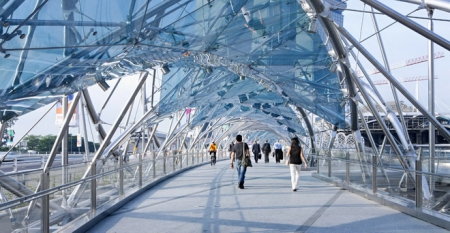 Helix Bridge в Сингапуре