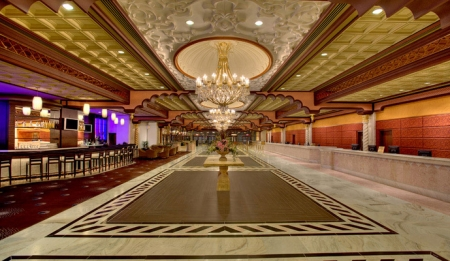 Отель казино Trump Taj Mahal Casino Resort (Часть 2)